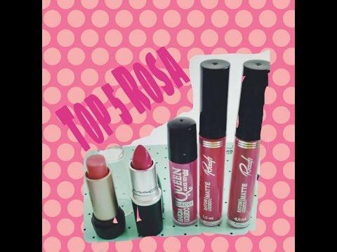Top 5 Rosa- #OutubroRosa  Por Iva Calixto