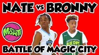 Bronny James vs Nate Sasser - 7th Graders GO AT IT - 2018 Battle of Magic City Showcase