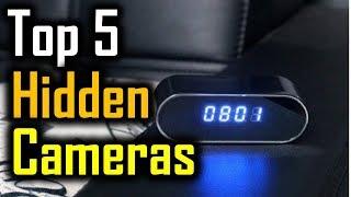 Top 5 Hidden Cameras 2018 | 5 Best Hidden Cameras | Best Hidden Cameras Review