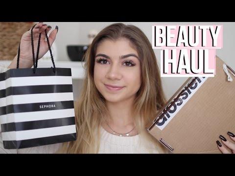 BEAUTY HAUL | Sephora, Glossier, Milk