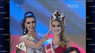 Maria Camila Soleibe es la Nueva Reina Hispanoamericana 2016