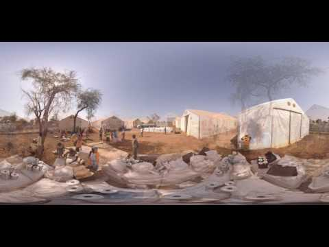 Relief in South Sudan: 360 Video Refugee Camp Tour