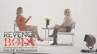 Khloe Kardashian Meets Stephanie For Her Revenge Body | Revenge Body With Khloé Kardashian | E!