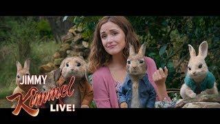 Rose Byrne on New Movie Peter Rabbit
