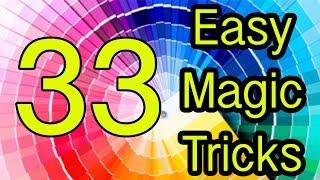 Easy magic tricks Revealed 33 Tutorial