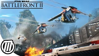Star Wars Battlefront 2: Vehicle Warfare & Frontlines Combat Gameplay + GIVEAWAY!