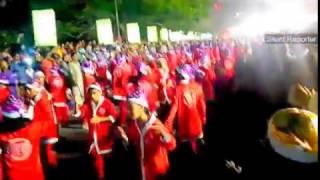 Born nathale(Buon Natale) Flash Mob 27-12-2016 Thrissur Kerala india