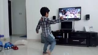 Toddler dancing |Jithu Jilladi | tamil movie Theri |