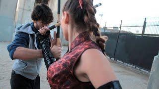 Download Russian Girl Kali Escrima Stick Fight 3Gp Mp4