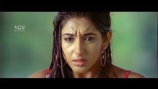 Devraj hit Surya for Misbehaving with Ragini Dwivedi | Chiranjeevi Sarja | Gandede Kannada Movie