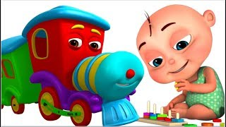 Timpoo Train - Learn Shapes | Learning Videos For Kids | Videogyan 3d Rhymes | Nursery Rhymes