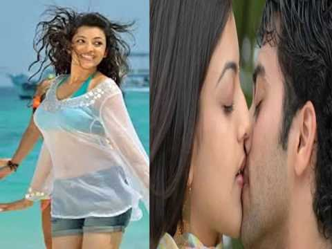 Hot South Indian Actress Kajal Agarwal Lip Kissing Leaked Video 2016.