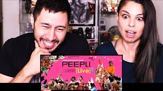 PEEPLI LIVE   Aamir Khan Productions   Trailer Reaction w/ Tania Verafield!