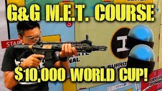 G&G M.E.T. CQB Course: $10,000 World Cup! (G&G Combat Machine SRXL)