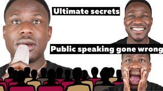 Public Speaking Gone Wrong | Ultimate Secrets