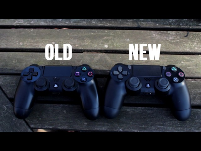 OLD PS4 CONTROLLER VS. NEW PS4 CONTROLLER (COMPARISON)