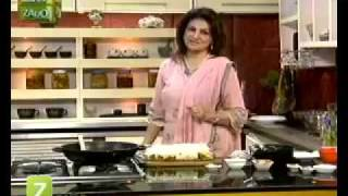 Vegetable Lasagna And Aloo Bukharay Ki Chutney by Sara Riaz   Zaiqa