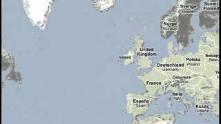viajar a islandia mapa
