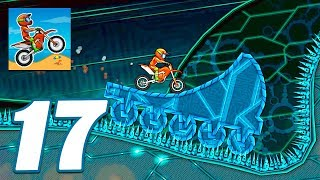Moto X3M Bike Race Game Cyber World All Levels - Gameplay Android & iOS games