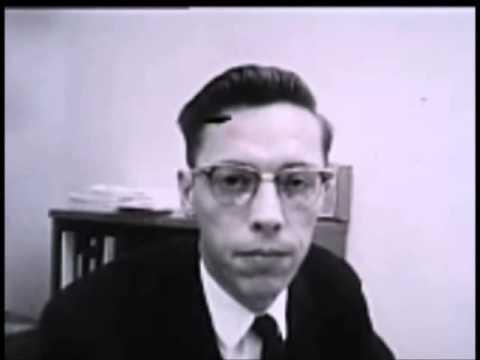 November 25, 1963 - Dallas County Medical Examiner Dr. Earl Rose after Lee Harvey Oswald's autopsy