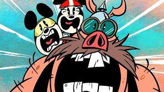 Road Hogs | A Mickey Mouse Cartoon | Disney Shorts