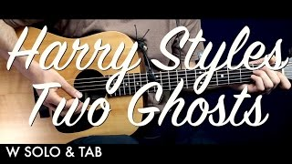 Harry Styles - Two Ghosts Guitar Tutorial Lesson/Guitar Cover w SOLO & TAB  How To Play Easy Videos