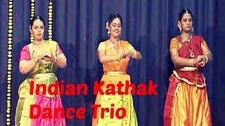 Rasika Kulkarni, Dhanashree Natu, Priya Admane - Kathak Dance Trio   Pune