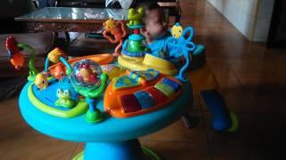 Hanum on baby walker