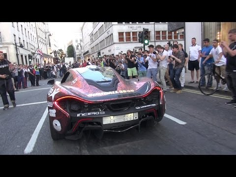 Xxx Mp4 MCLAREN P1 V SKINNY TYRES HUGE REVS MAD CROWD REACTION GUMBALL 3000 HITS LONDON 3gp Sex