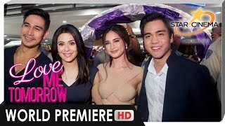 World Premiere | 'Love Me Tomorrow' | Piolo Pascual, Coleen Garcia, Dawn Zulueta |Star Cinema