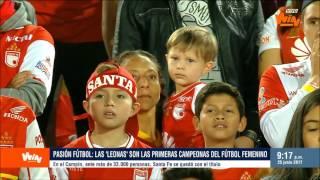 Pasión Fútbol   Las Leonas rugieron campeón en El Campín   Win Sports