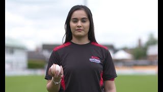 Amna Rafiq the woman on mission for womens cricket