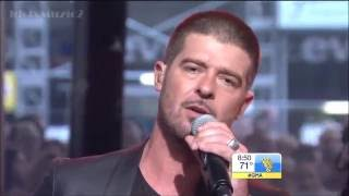 Robin Thicke: Get Her Back (Good Morning America) (LIVE)