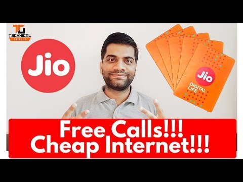 Reliance Jio Official Launch and Plans!!! Jio SIM for Any 4G Phone