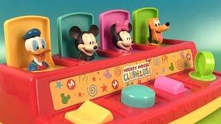 Mickey Mouse Pop Up Pals Jouets Surprises en Play Doh Premier Âge
