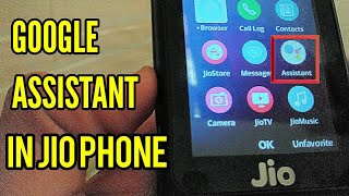 Google Assistant in Jio Phone- How to Use and Download