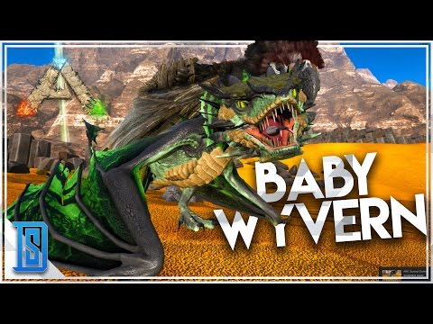Ark:Survival Evolved  Scorched Earth Pt.17 HOW TO GET WYVERN EGG/RAISE A  WYVERN/BABY POISON WYVERN! | Daikhlo