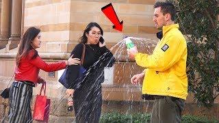 EXPLODING DRINKS In Public!!