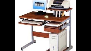 Cheap Computer Desk   Techni Mobili Complete Media Computer Desk, Woodgrain
