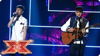 Sean & Conor Price take on Sia's Cheap Thrills | Live Shows | The X Factor 2017
