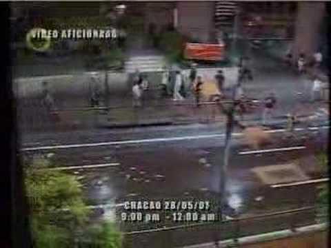Globovision Video Aficionado de Bandas Armadas 28 05 07