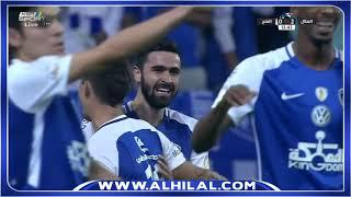 هدف الهلال الثاني على الفتح عن طريق عمر خربين - الدوري السعودي للمحترفين ج26