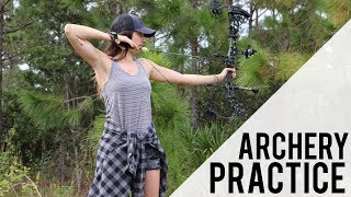 Archery Practice & Catching Lunker Largemouth | Florida Adventures EP3