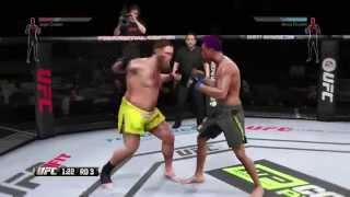Fat guy gets the KO