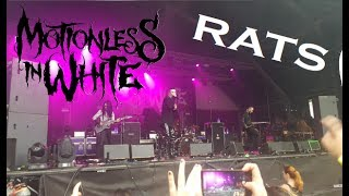 Motionless In White- RATS- InFest Milano 2017