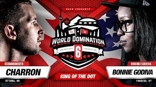 KOTD - Rap Battle - Charron vs Bonnie Godiva | #WD6ix