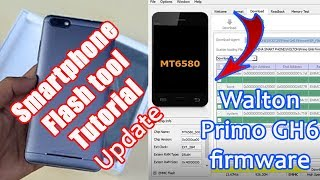 Walton Primo GH6 firmware Update Done by sp flash tools (Sp flash tool tutorial)