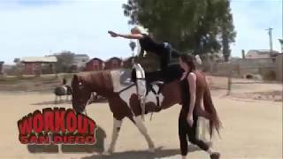 WorkOut San Diego visit Cheval Equestrian Arts on