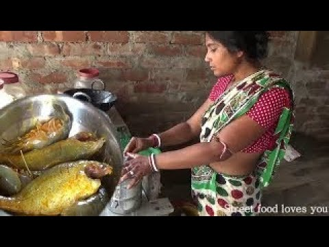 Xxx Mp4 Indian Village Aunty Cooking Prawn Sea Fish Fry Amazing Taste Street Food Preparation 20 3gp Sex
