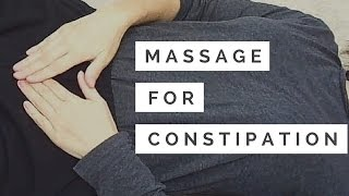 Quick and Easy Massage for Constipation - Massage Monday #284
